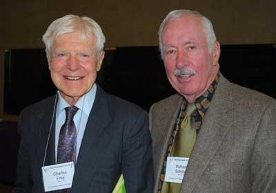 Charlie Frey and Bill Schiller