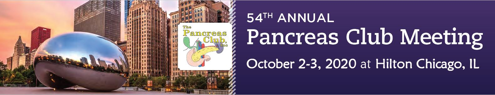Pancreas Club 54<sup>th</sup> ANNUAL MEETING